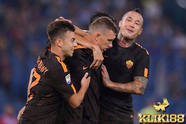 AS Roma Petik Kemenangan Meyakinkan Atas Hellas Verona