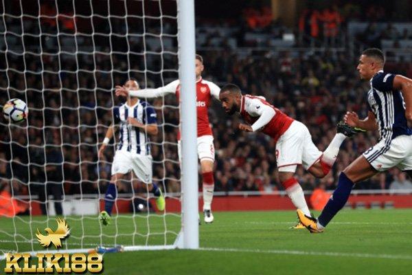 Arsenal Bungkam West Brom Lewat Dua Gol Lacazette