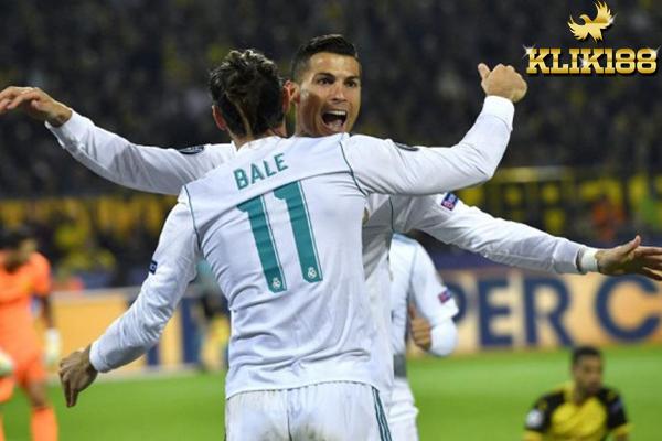 Bale dan Ronaldo Bawa Madrid Akhiri Catatan Buruk Melawat Dortmund