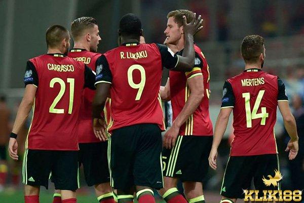 Belgia Pastikan Dapat Tiket ke Russia Usai Kalahkan Yunani