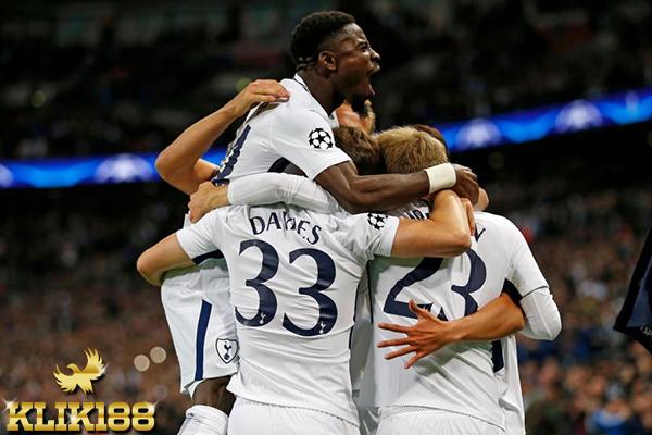 Brace Kane Bawa Tottenham Hotspur Kalahkan Borussia Dortmund