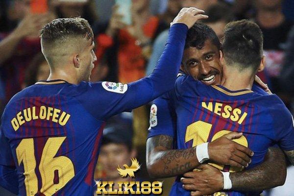 Camp Nou Jadi Saksi Barcelona Hajar Eibar Dengan Quattrick Messi