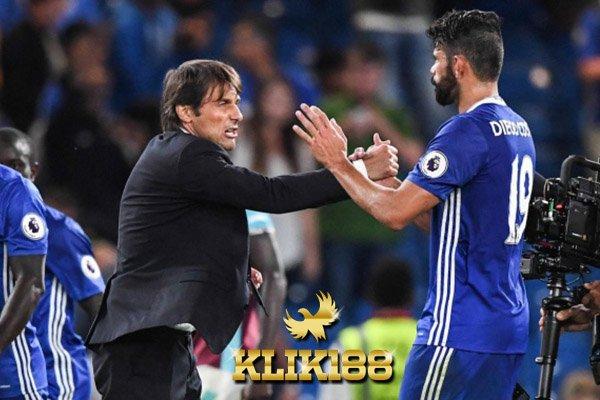 Conte Berterima Kasih Untuk Costa Selama Berada di Chelsea