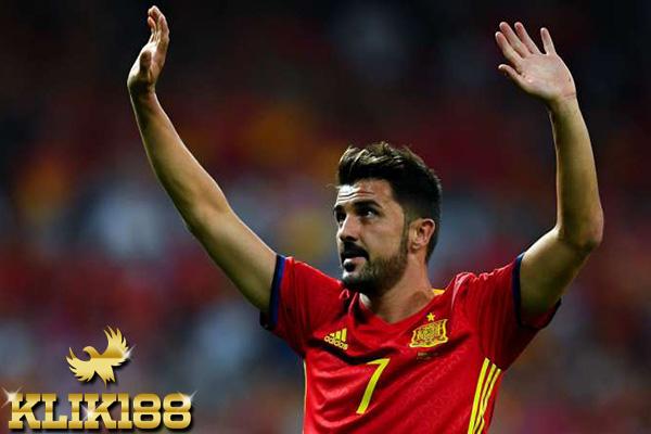 David Villa Merasa Bahagia Bisa Jalani Laga Bersama Spanyol