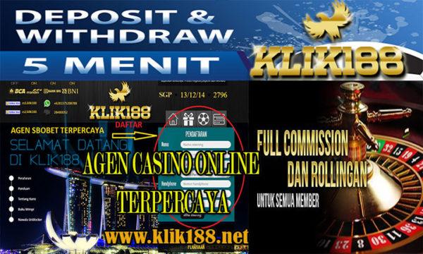 KLIK188 Agen Live Casino Online Terpercaya