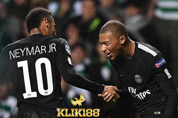 Pujian Neymar Untuk Mbappe Usai Laga Kontra Celtic