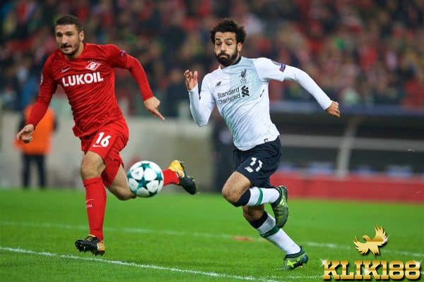 Skor Imbang Jadi Hasil Akhir Laga Liverpool Kontra Spartak Moskow