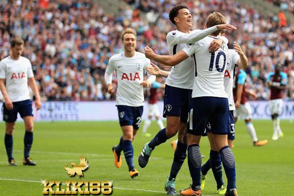 Spurs Berhasil Dapat Kemenangan Atas West Ham di Wembley