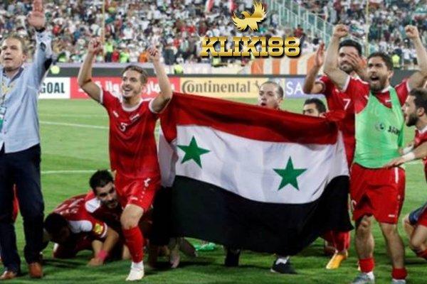 Suriah Buktikan Bisa Lolos Piala Dunia Walaupun Sedang Perang