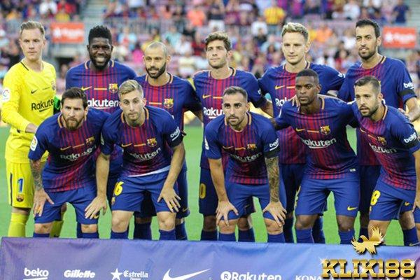 Terancamnya Barcelona Berpotensi Keluarnya Dari La Liga