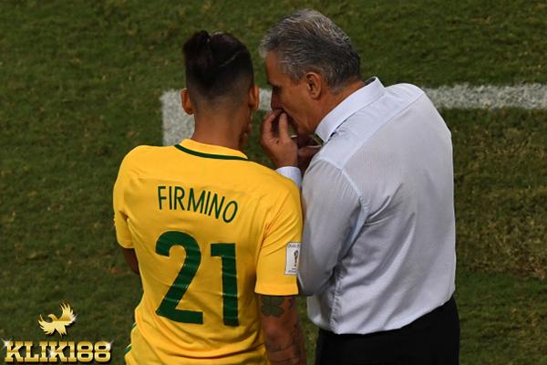 Tite Berharap Roberto Firmino Tampil Lebih Baik Lagi Kedepannya