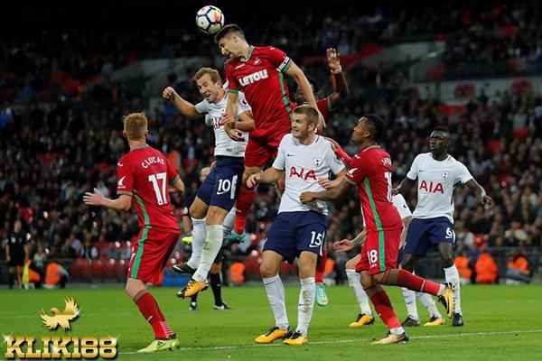 Tottenham Hotspur Gagal Rebut Poin Lagi di Wembley Kontra Swansea