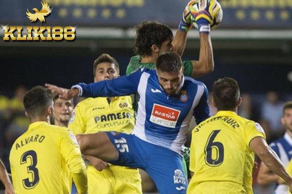 Villareal Harus Puas Berbagi Poin Dengan Espanyol pada Laga Kandang