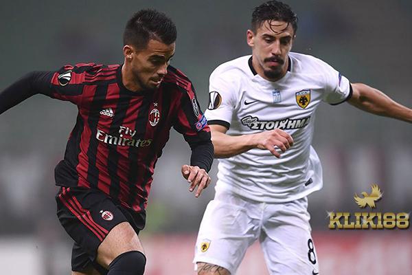 AC Milan Tak Sanggup Bongkar Pertahanan Disiplin dari AEK Athens