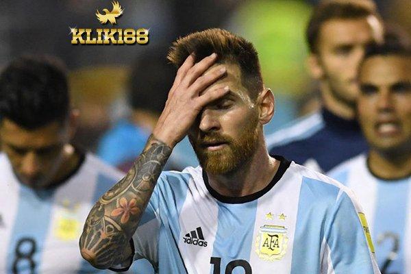 Argentina Akan Rugi Besar Jika Tak Lolos ke Piala Dunia