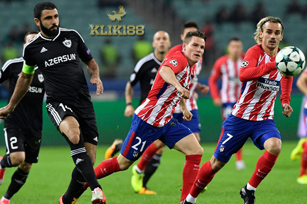 Atletico Madrid Gagal Rebut Poin Penuh Usai Ditahan Imbang Qarabag