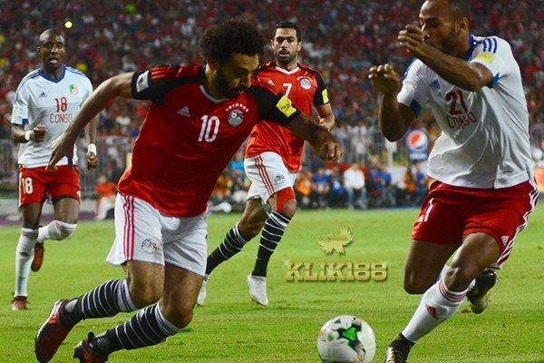 Brace Salah Bantu Mesir Taklukan Kongo dan Jadi Juara Grup