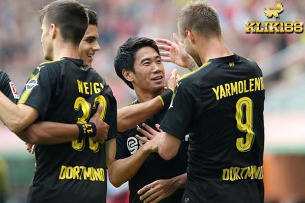 Dortmund Masih Jaga Tren Positif Dengan Kalahkan Augsburg