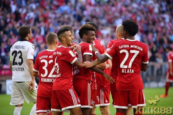 Freiburg Jadi Korban Pertama Kebangkitan Bayern Munchen