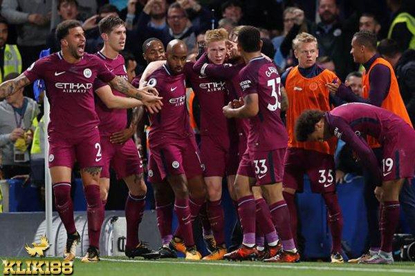 Gol Krusial De Bruyne Bawa Manchester City Bungkam Chelsea