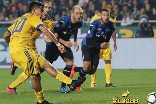 Kegagalan Penalti Dybala Buat Juventus Imbang Kontra Atalanta