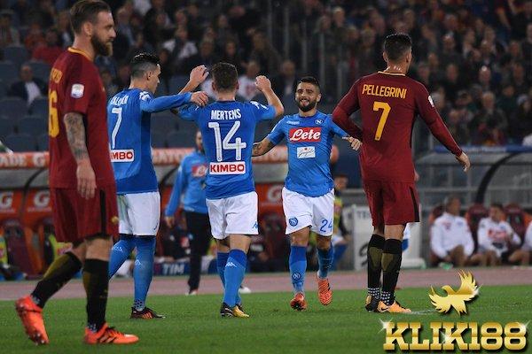 Napoli Sukses Pertahankan Kemenangan Beruntun Usai Taklukan Roma