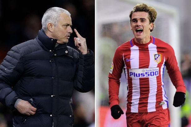 Mourinho Buka Peluang Untuk Griezmann di Bulan Januari