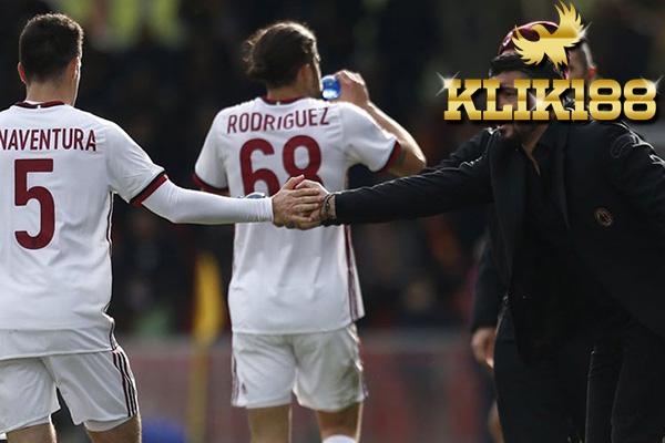 Laporan Pertandingan Benevento VS AC Milan Dengan Skor 2-2