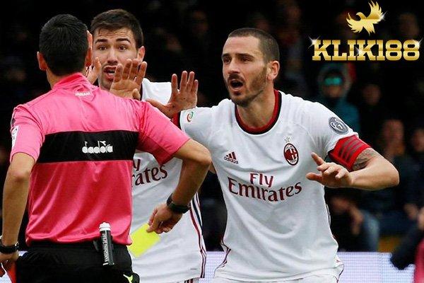 AC Milan Ditahan Seri Oleh Benevento Bonucci Jadi Frustrasi