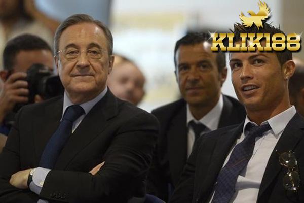 Presiden Real Madrid Pastikan Ronaldo Takkan Pernah Pergi Dari Klub