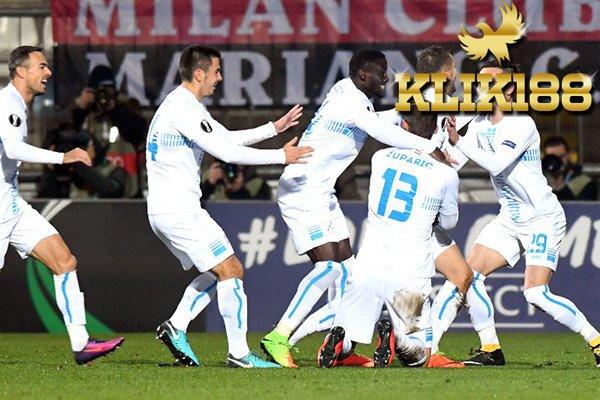 Laporan Pertandingan Sepakbola Rijeka 2-0 AC Milan