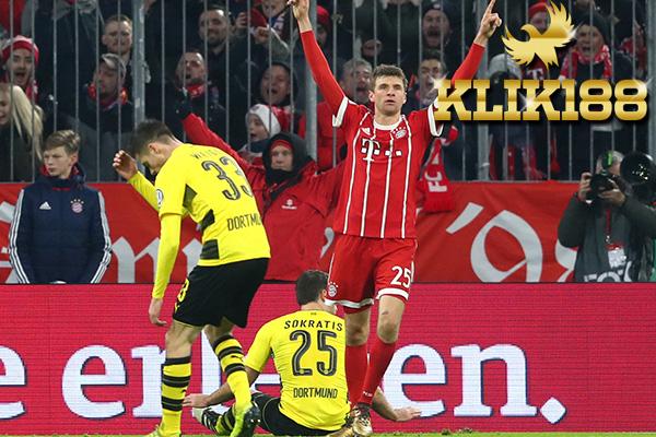Laporan Pertandingan Bayren Munich VS Borssia Dortmund