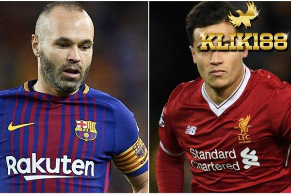Jika Coutinho Ke Barcelona Iniesta Bakal Sambut Dengan Senang Hati