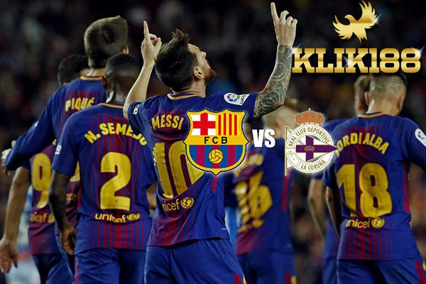 Laporan Pertandingan Sepakbola Barcelona VS Deportivo