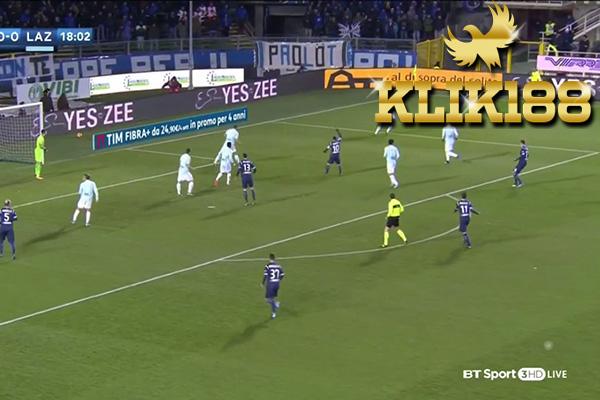 Laporan Pertandingan Sepakbola Atalanta VS Lazio