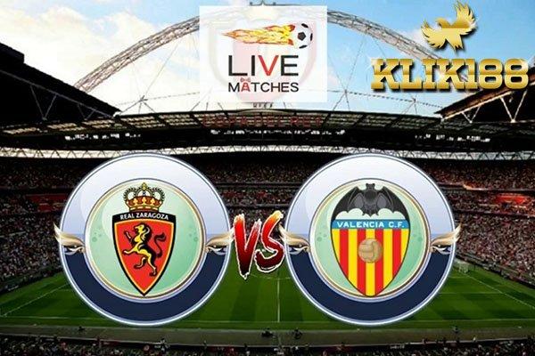 Laporan Pertandingan Copa Del Rey Valencia Vs Real Zaragoza