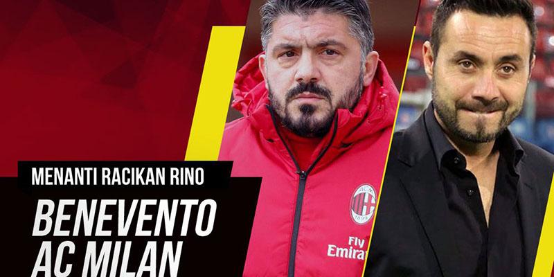 Prediksi Pertandingan Benevento Vs AC Milan 3 Desember 2017