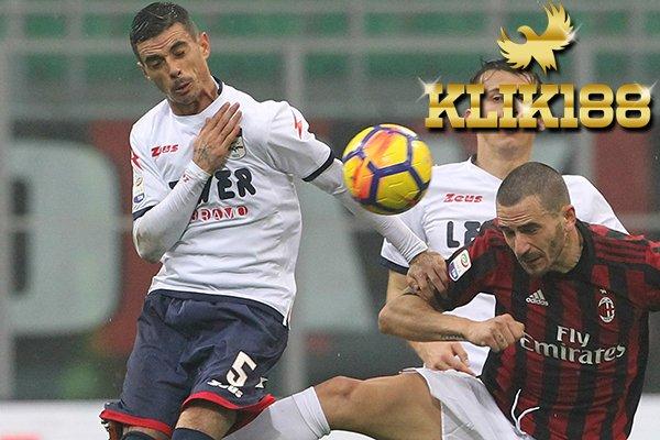 Laporan Pertandingan Sepakbola AC Milan VS Crotone