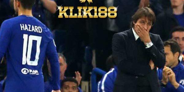 Chelsea Harus Pilih Eden Hazard atau Antonio Conte