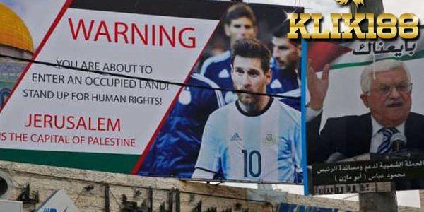 Lionel Messi Pasti Talangi Kerugian Israel vs Argentina
